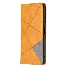 Samsung Galaxy A22 5G Case Premium PU Leather Folio Cover Magnetic Grey