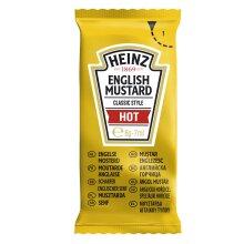 Heinz Hot English Mustard Sachets - 250x