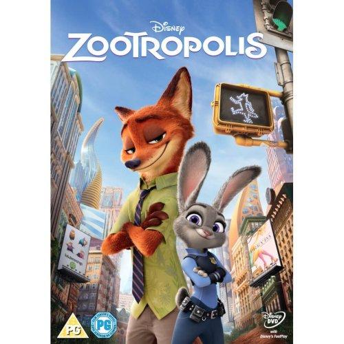 Zootropolis DVD [2016]