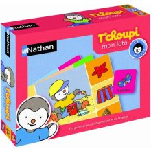 Nathan Loto T'choupi 31000 Educational Match-Up Game [French Language]