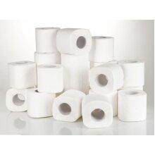 Jumbo Pack of Soft White Loo Rolls