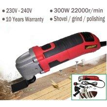Oscillating Multi Purpose Tool High Power 300W Cut Scraping Sanding