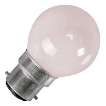 W4 BC Globe Bulb