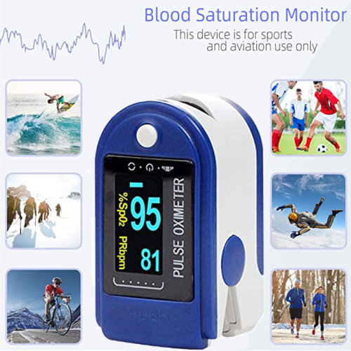 Pulse Oximeter Finger Clip Blood Pressure Monitor