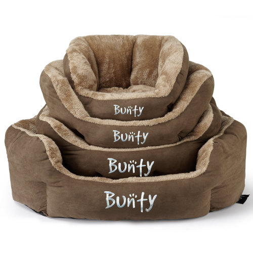 Bunty Polar Dog Bed   Soft Fleece Pet Bed