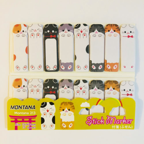 Adorable Cats 8 In 1 Mini Sticky Notes