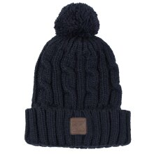Superdry Eclipse Navy Trawler Cable Beanie