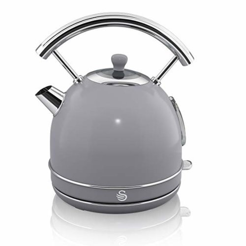 Swan 1.7 Litre Grey Dome Kettle
