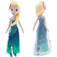 Halloween Birthday Gift Princess Anna Elsa Doll Toys Frozen Snow Queen Elsa