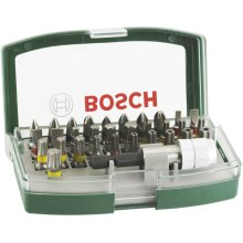 1 Pack - Bosch 2607017063 32-Piece Screwdriver Bit Set