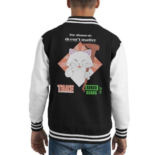 (Small (5-6 yrs)) Take Senzu Korin Dragon Ball Z Kid's Varsity Jacket