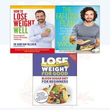 lose weight well the healthy,fat-loss plan 3 Books Collection Set