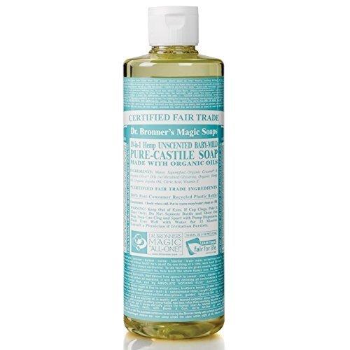 Dr Bronner | Organic Castile Liquid Soap - Baby Unscented 237ml