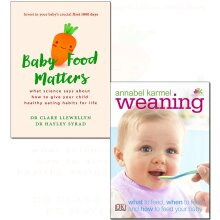 Weaning and baby food matters 2 books collection set
