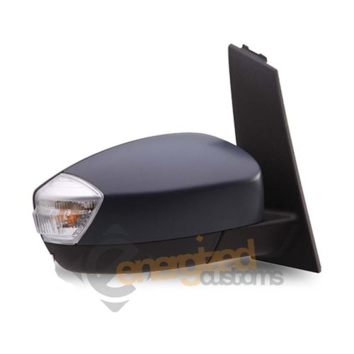 Ford C-max Mk2 9/2010-> Electric Powerfold Wing Door Mirror Primed Drivers Side