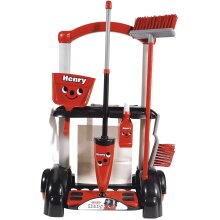 Casdon 630 Henry Cleaning Trolley, Red