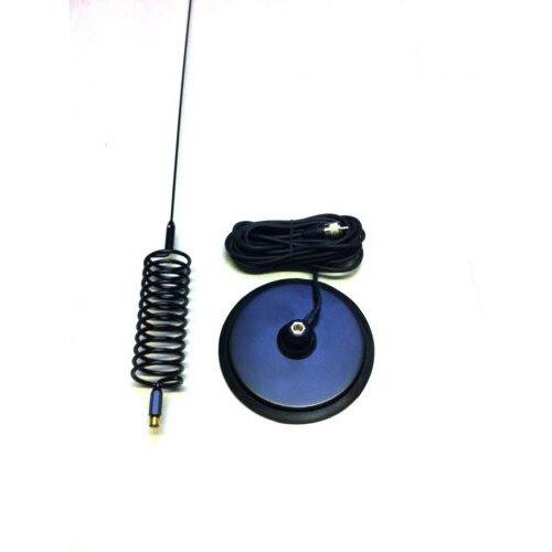 "Tornado Stinger CB radio antenna and 5"" mag mount 1.55m"
