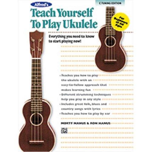 Alfred 00-37133 TEACH YRSLF UKULELE-BK&CD