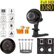 1080P Mini WIFI IP Camera Wireless In/outdoor CCTV Smart Home Security IR Cam UK