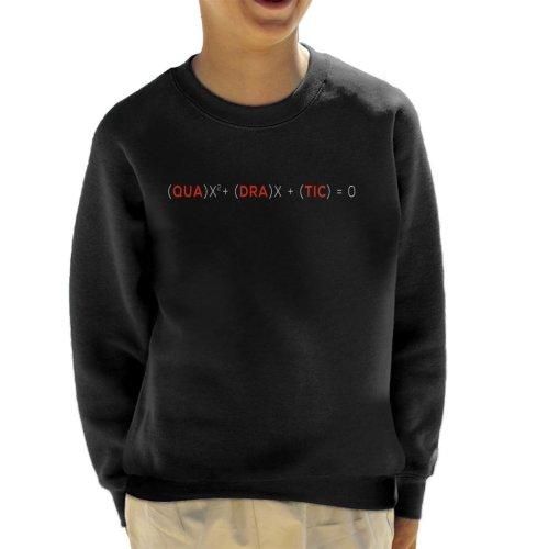 Quadratic Equation Kid's Sweatshirt