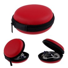 1pc Leather Case For Tracker Band Sport Fitness Activity Wristband Pocket Size[Red] BUY 2 GET 1 FREE