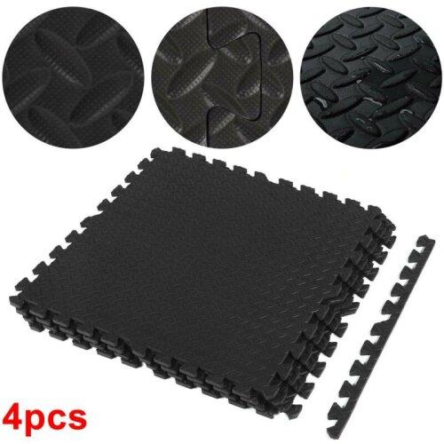4PCS Extra Thick Gym Flooring Floor Mats Eva Soft Foam Mat Yoga Tiles
