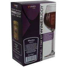 WineBuddy Merlot 6 Bottle - Home brew Wine Making Kit