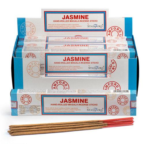 Stamford Masala Incense Sticks - Jasmine - Set of 12