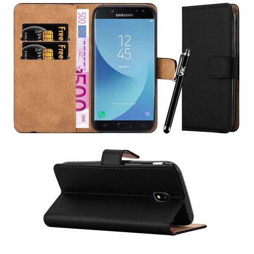 For Galaxy J3 2017 Leather Wallet Flip Case Cover