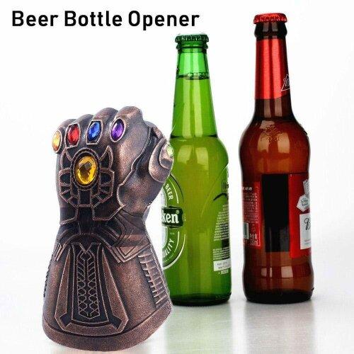 Thanos Infinity Gauntlet Glove Bottle Beer Opener