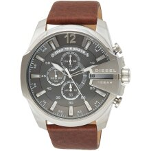 Diesel Mega Chief Men's Watch Chronograph DZ4290,New with Tags