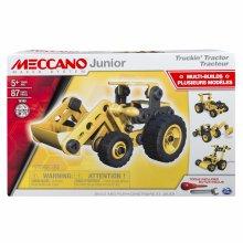 Meccano 6027019 Truckin' Tractor (Styles Vary), Yellow