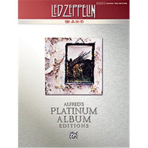 Alfred 00-32442 LED ZEPPELIN IV GTR TAB PLATINUM