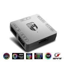RGB Convertor Conversion Wizard 5V 3 Pin ARGB Light To 12V 4 Pin RGB Light Adapter