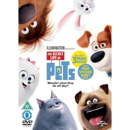 The Secret Life of Pets DVD   2016