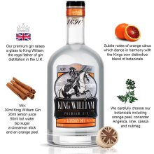 King William Gin 70cl