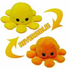 Octopus Mood Toy Reversible Double-Sided Flip Octopus Doll TikTok