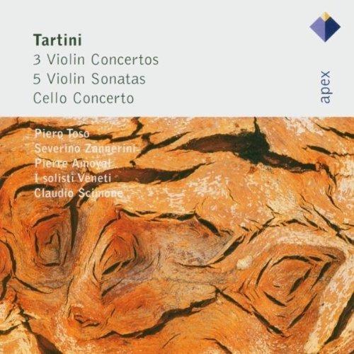 Piero Toso - Tartini: 3 Violin Concertos, 5 Violin Sonatas and Cello Concerto [CD]