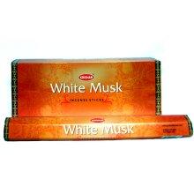 Krishan Incense | White Musk Perfume Fragrance 120 Room Aroma Sticks