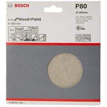 LIKE-NEW Bosch Professional 2608621162 5 Pieces Sanding sheet M480 Bes