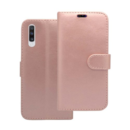 Case For Samsung Galaxy A70 2019 Rose Gold Wallet Flip PU Leather Cover