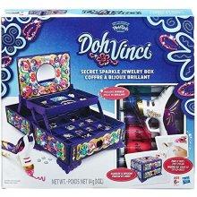 Doh-Vinci Secret Sparkle Jewellery Box Kit