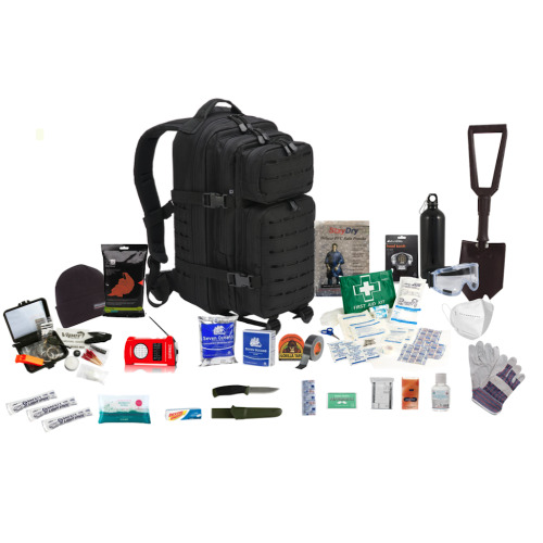 One Person  72hr Emergency Survival Kit, Bug Out Bag