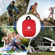 Outdoors Emergency Medical Bag Home Camping First Aids Kits Bag Rescue