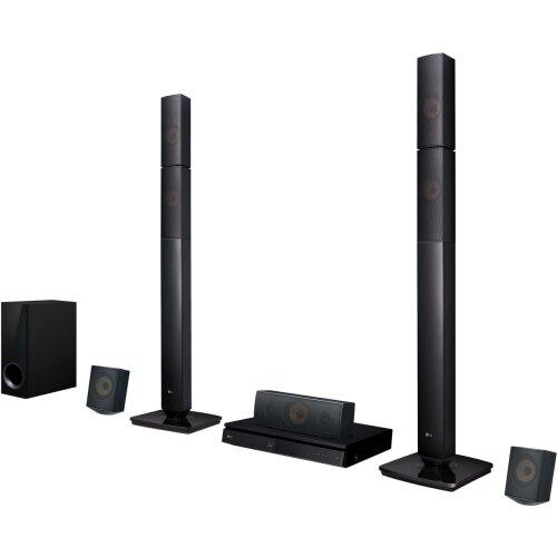 LG LHB645N 5.1 Surround 3D Multiroom Home Cinema System - Black