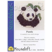 Mouseloft - Counted Cross Stitch Kit - Stitchlets Collection - Panda
