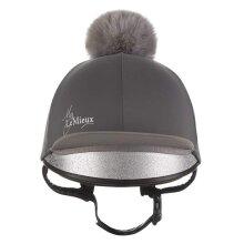 LeMieux Hat Silk - Slate Grey