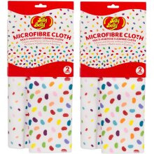 Jelly Belly Microfibre Cleaning Cloth 2 Pack x 2 (4 Cloths)