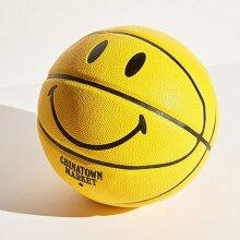 Basketball Smiley yellow Smiling Face Basketball