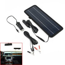 4.5W 12V Car Boat Yacht Solar Panel Trickle Battery Charger Outdoor